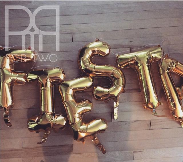 fiesta gold mylar foil letter balloons etsy