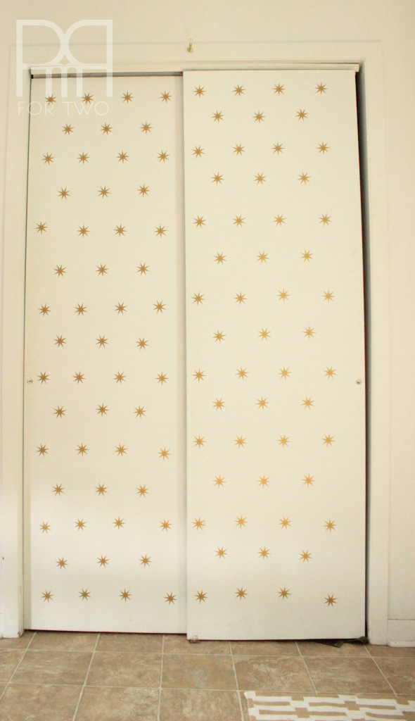 atomic star decals entryway 3