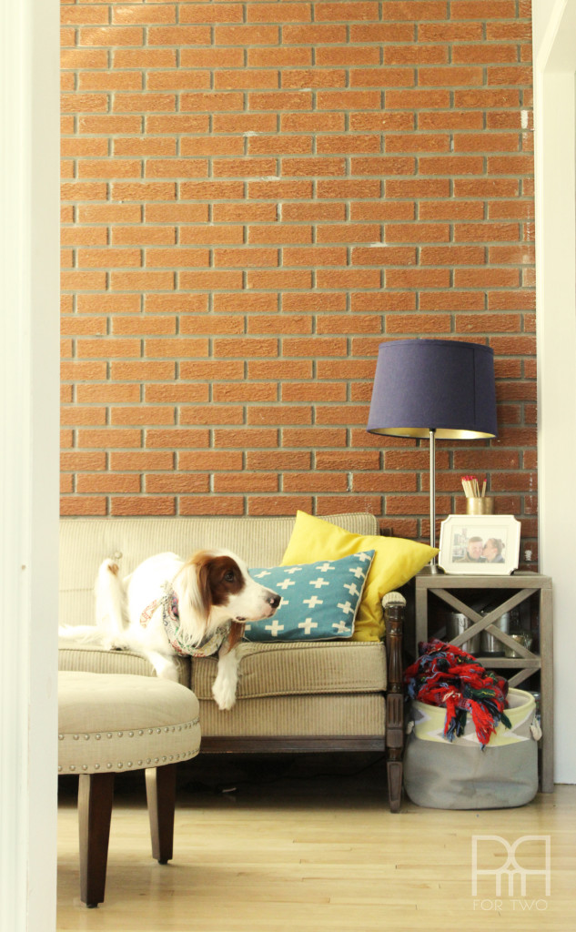 apartment therapy the big reveal pmq for two brick wall and bruce