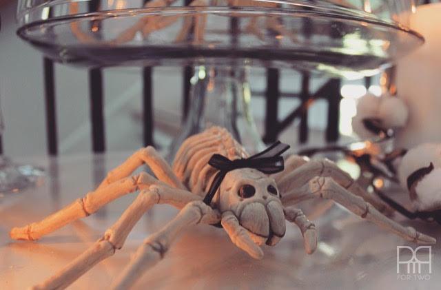halloween entryway decor spider
