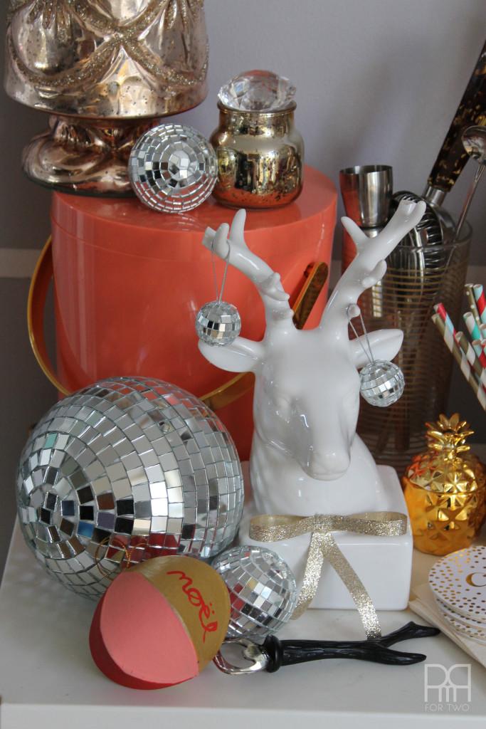 christmas ornaments deer stag