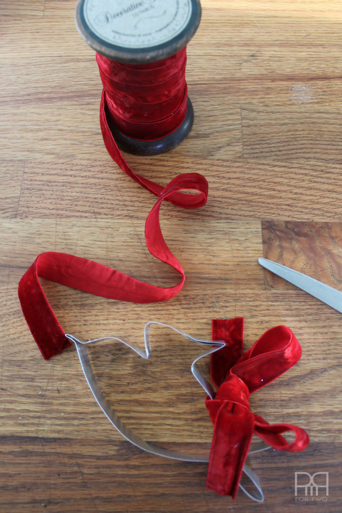 diy cookie cutter ribbon