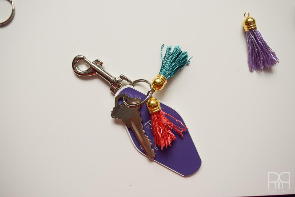 tassel keychain finished image