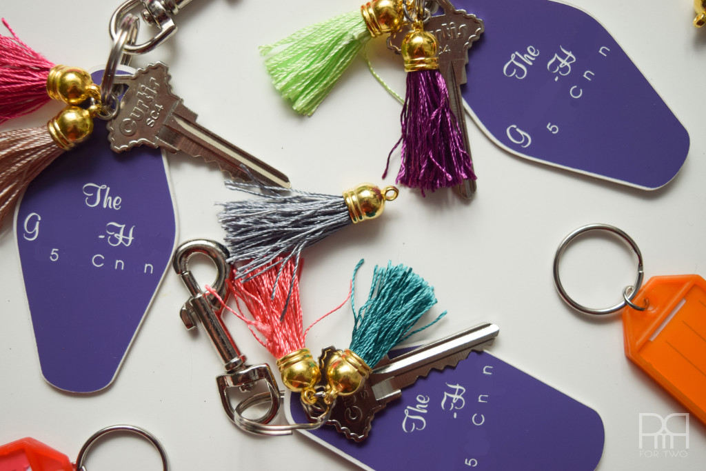 tassel keychain completed picture