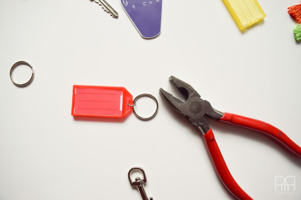 tassel keychain pliers
