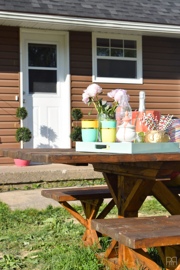 Patio Tour picnic table