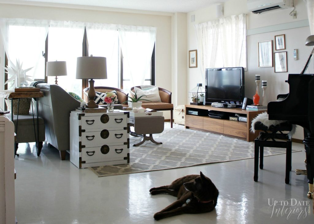living room Up to Date Interiors - Okinawa House Tour