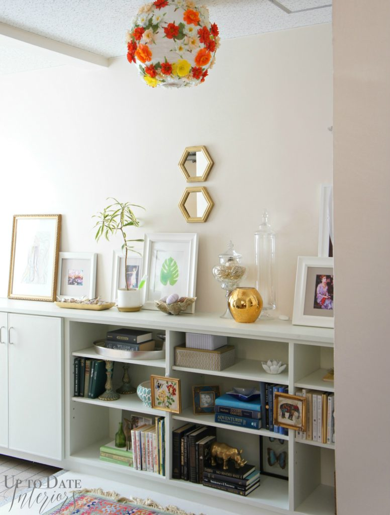 Up to Date Interiors - Okinawa House Tour book case