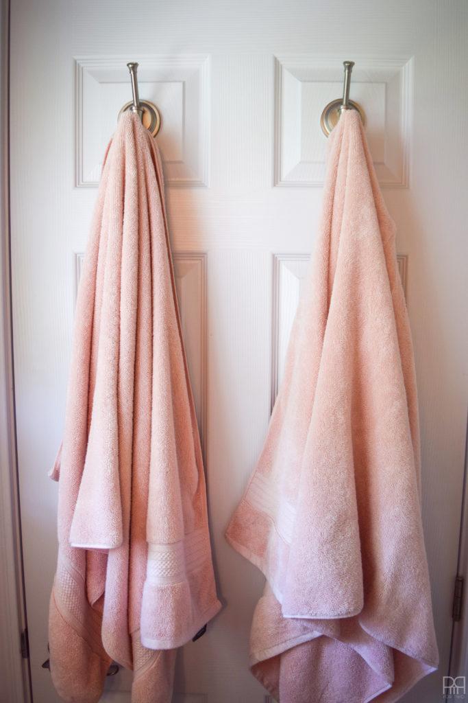 DIY Bathroom Sign towels