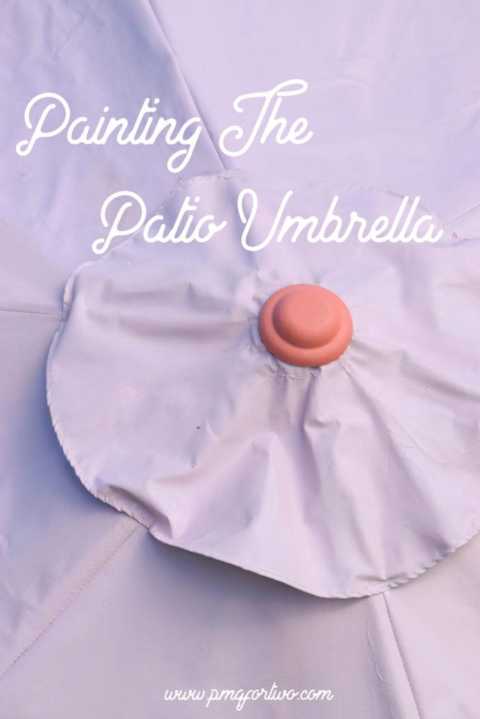 PATIO UMBRELLA PAINT