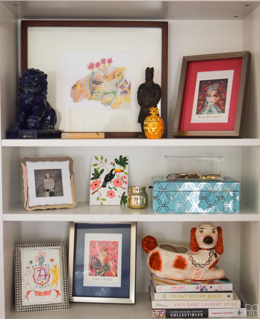 The Family Room shelf