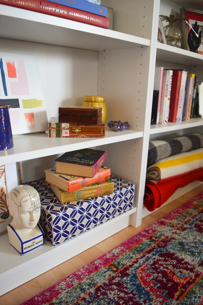 The Family Room bookcase