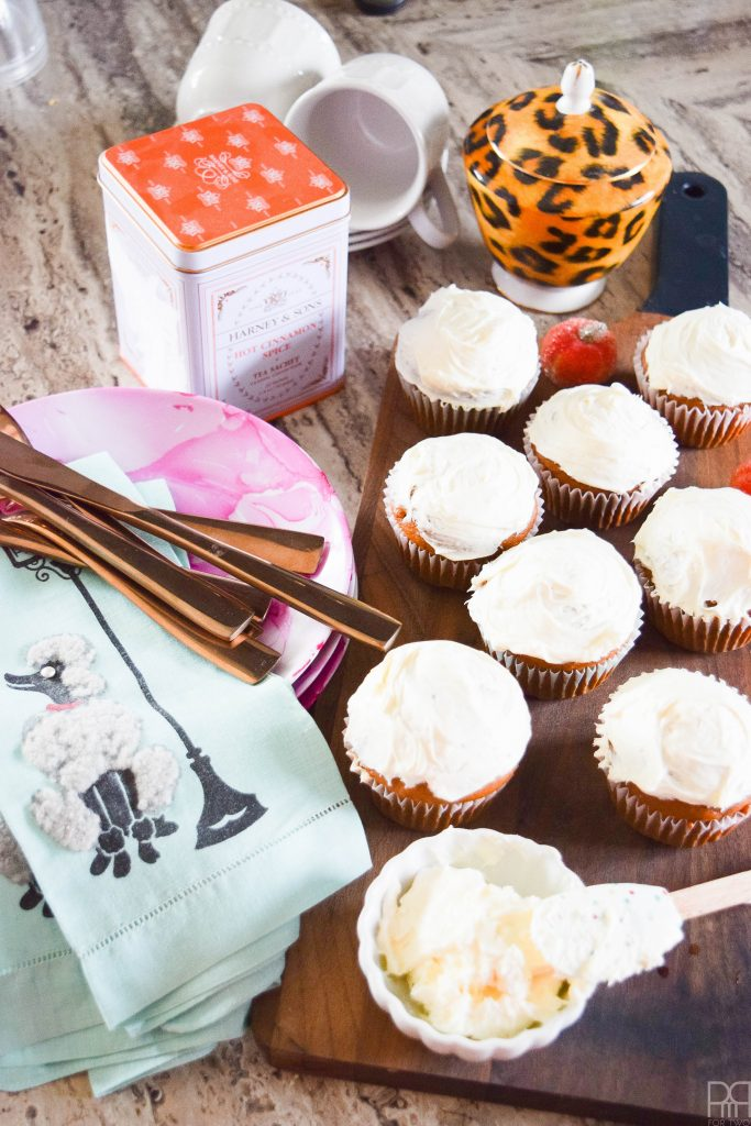 canadian-blogger-fall-home-tour cupcakes
