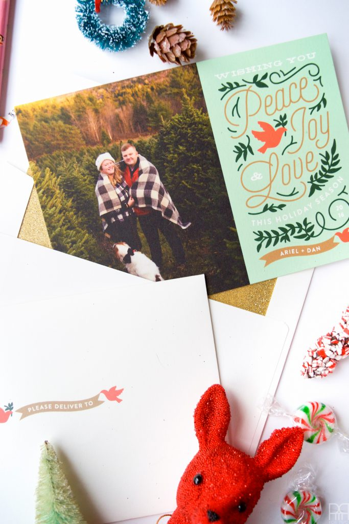 Putting together a Christmas card mailer is easier than you think when you've got time on your side and a little bit of planning