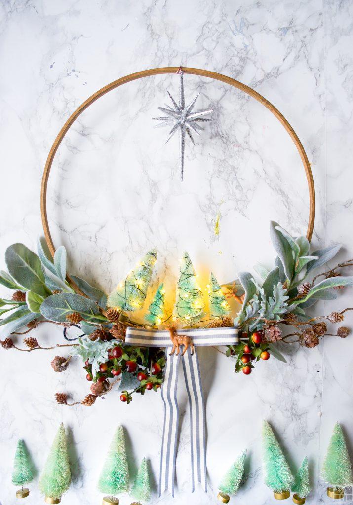 diy-minty-cool-holiday-wreath