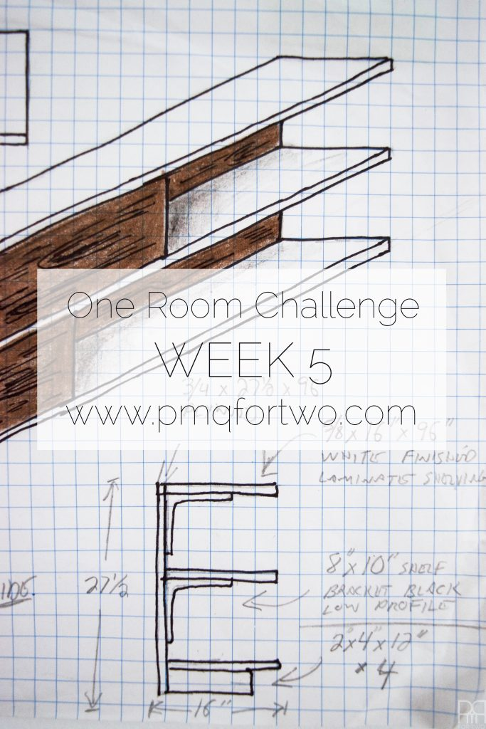 Fall One Room Challenge - Week 5