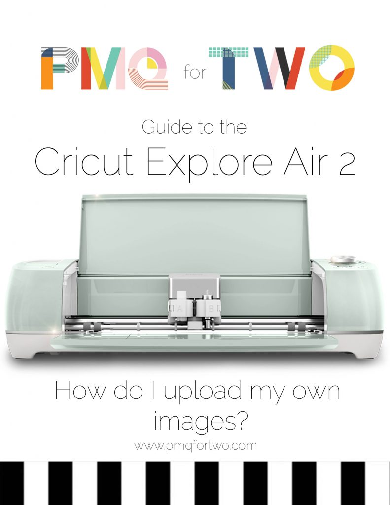 How to upload your own files cricut pin image