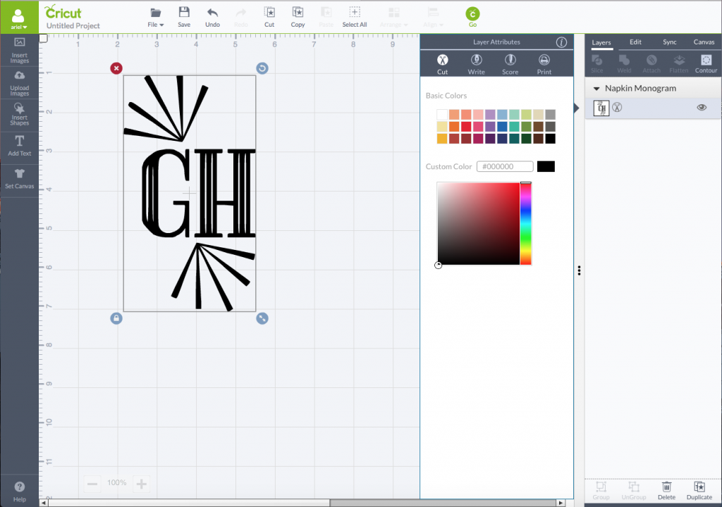 How To Use The Cricut Design Space Software tutorial