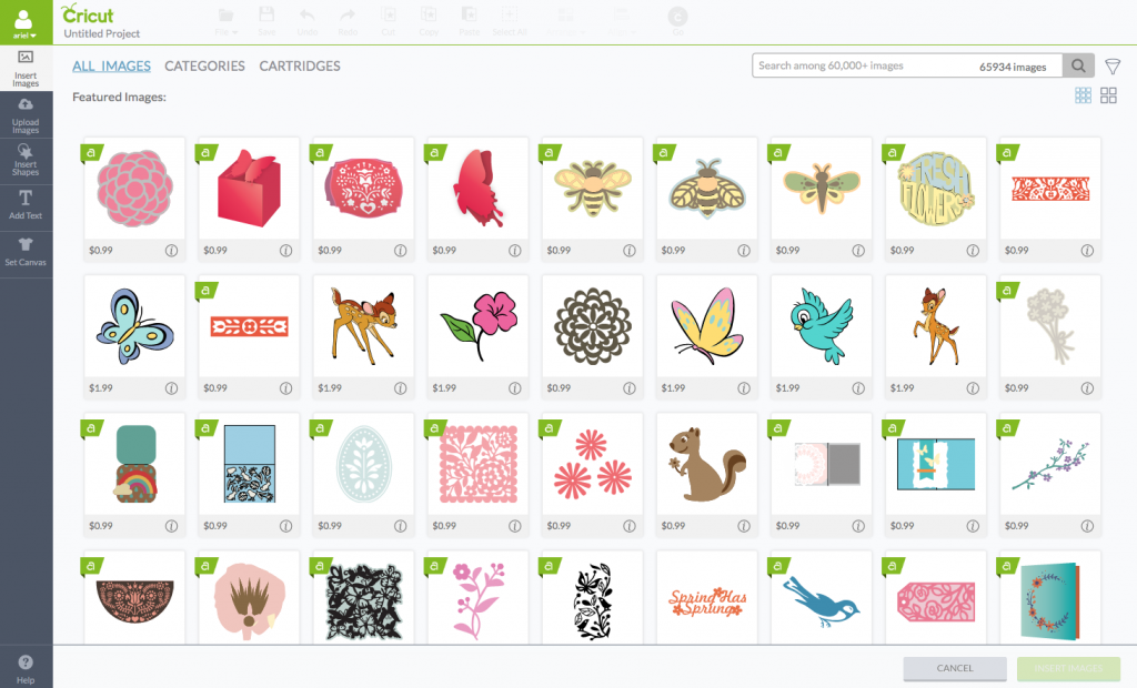 How To Use The Cricut Design Space Software images