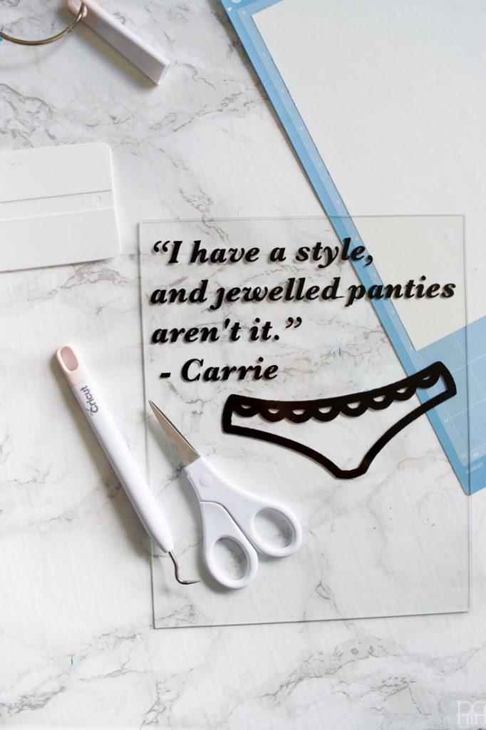 Looking for a sassy and easy way to bring some Sex and The City into your life? Catch the details for this Carrie Bradshaw Quote DIY on the blog, including the free downloadable graphic.