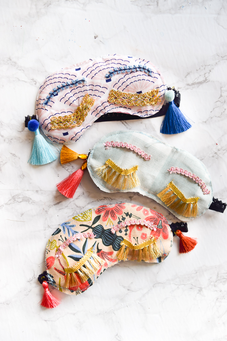 DIY Holly Golightly Sleep Masks