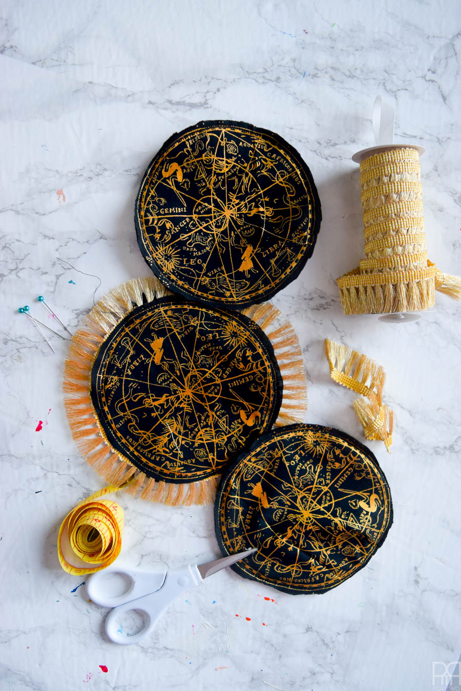 DIY Astrology Coasters