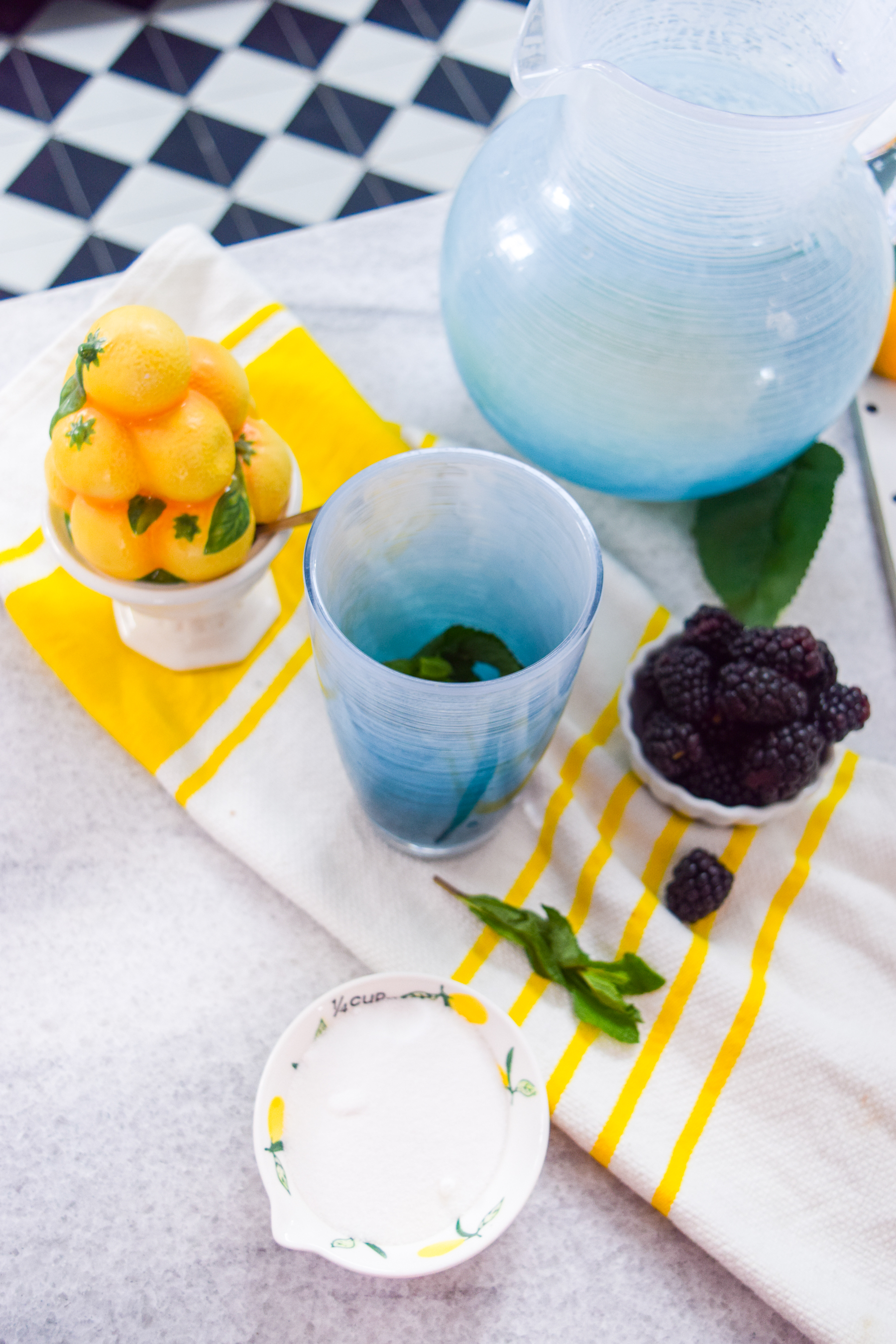 A cool and refreshing homemade blackberry mint lemonade is exactly what you need going into the weekend! or any cocktail hour for that matter. Grab the recipe!