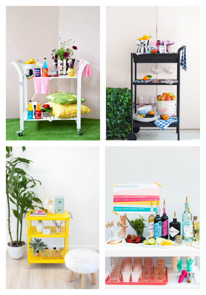 Summer Bar Carts & DIYs