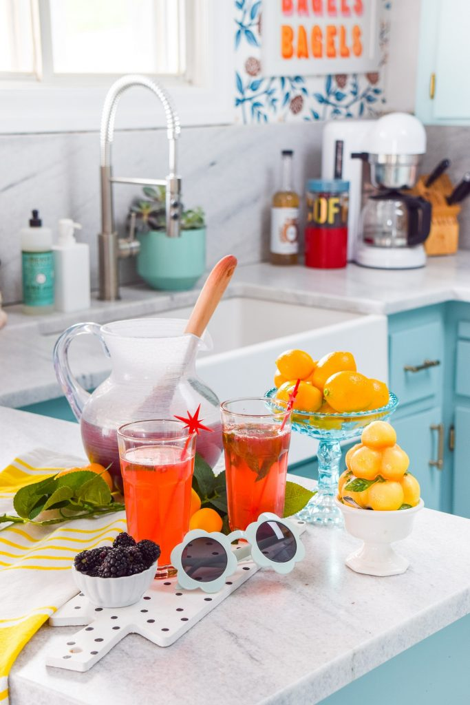 blackberry mint lemonade by PMQ for two