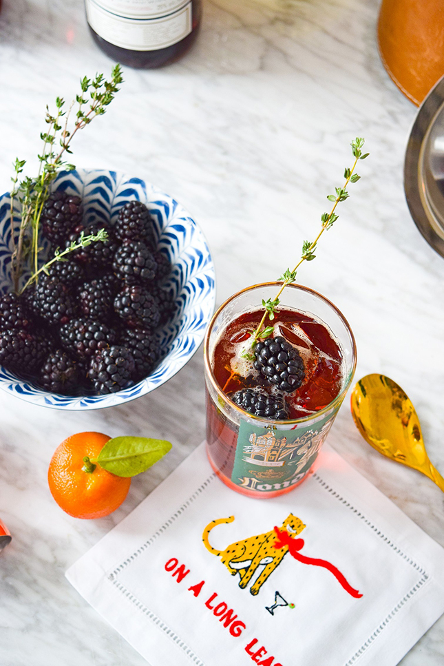 Blackberry & Rosemary Pimms Cup by PMQ for two