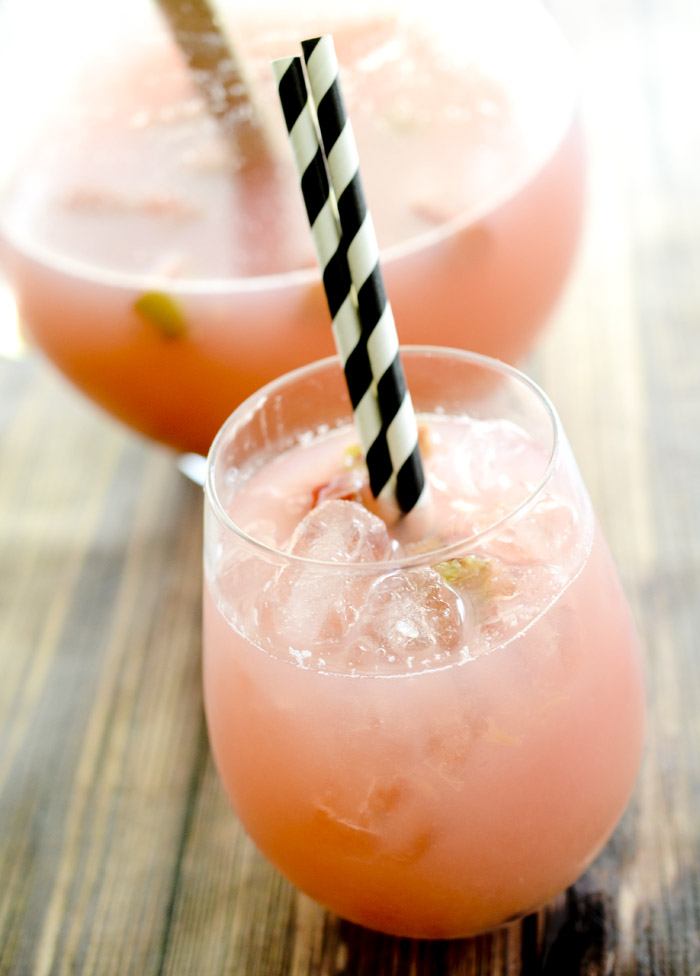 Recipe Diaries' Summer Rhubarb Lemonade