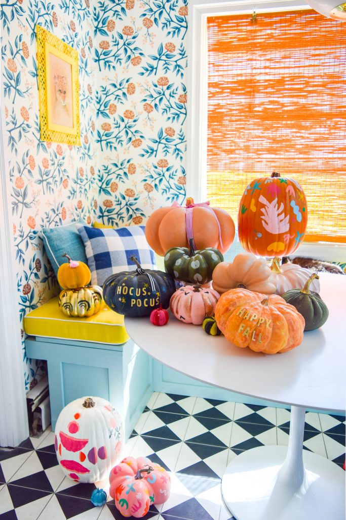 5 colorful pumpkin painting ideas pmq for two - Exterior painting ideas in nigeria ...