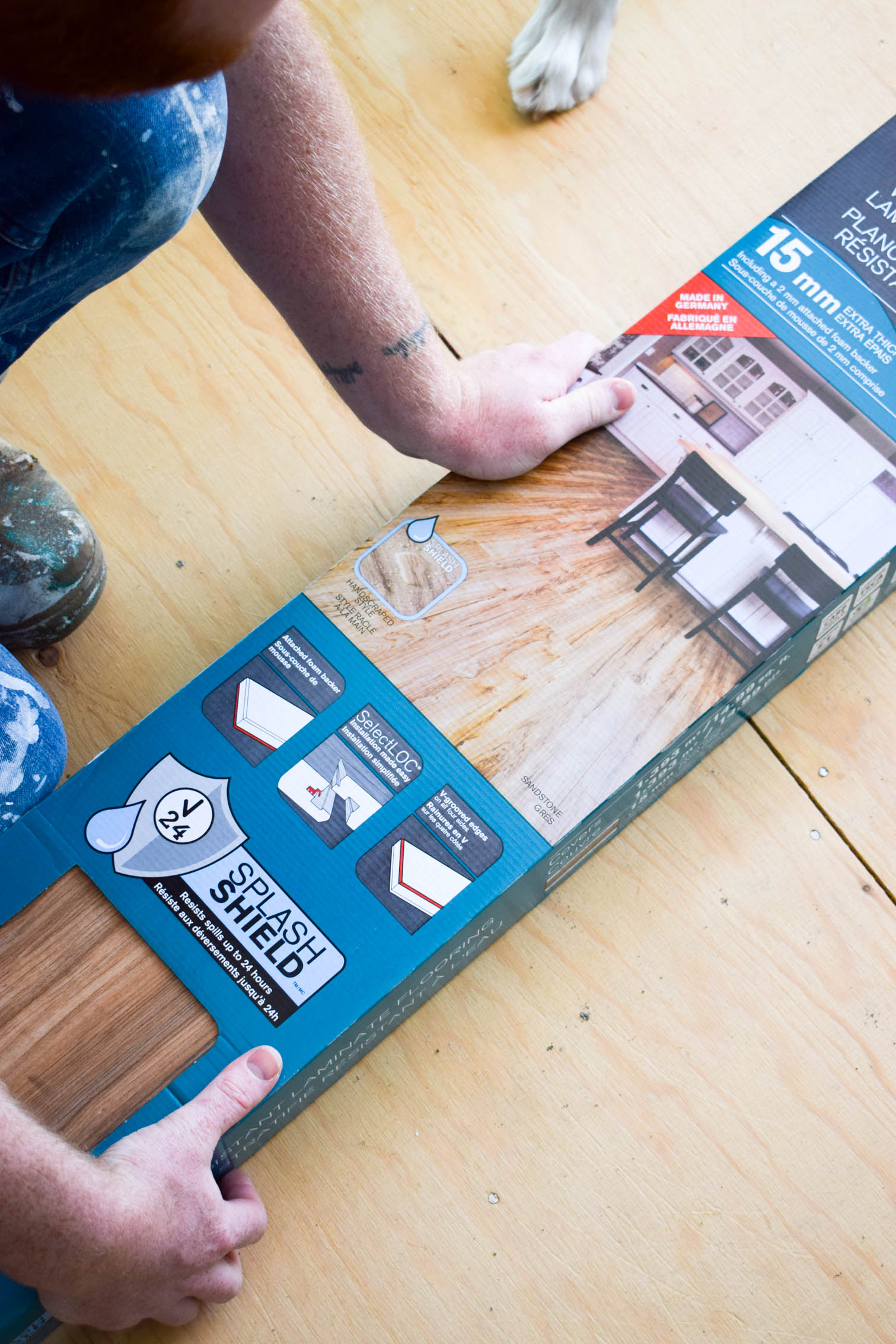 How To Install Laminate Flooring Pmq For Two