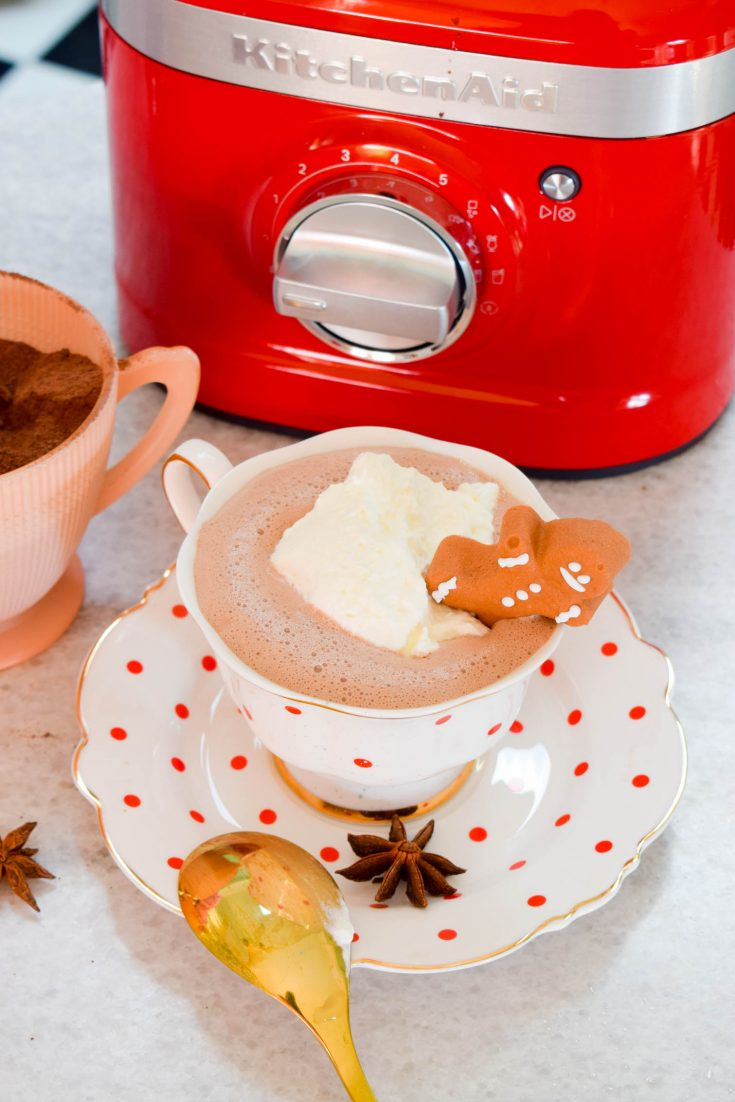 low card hot chocolate