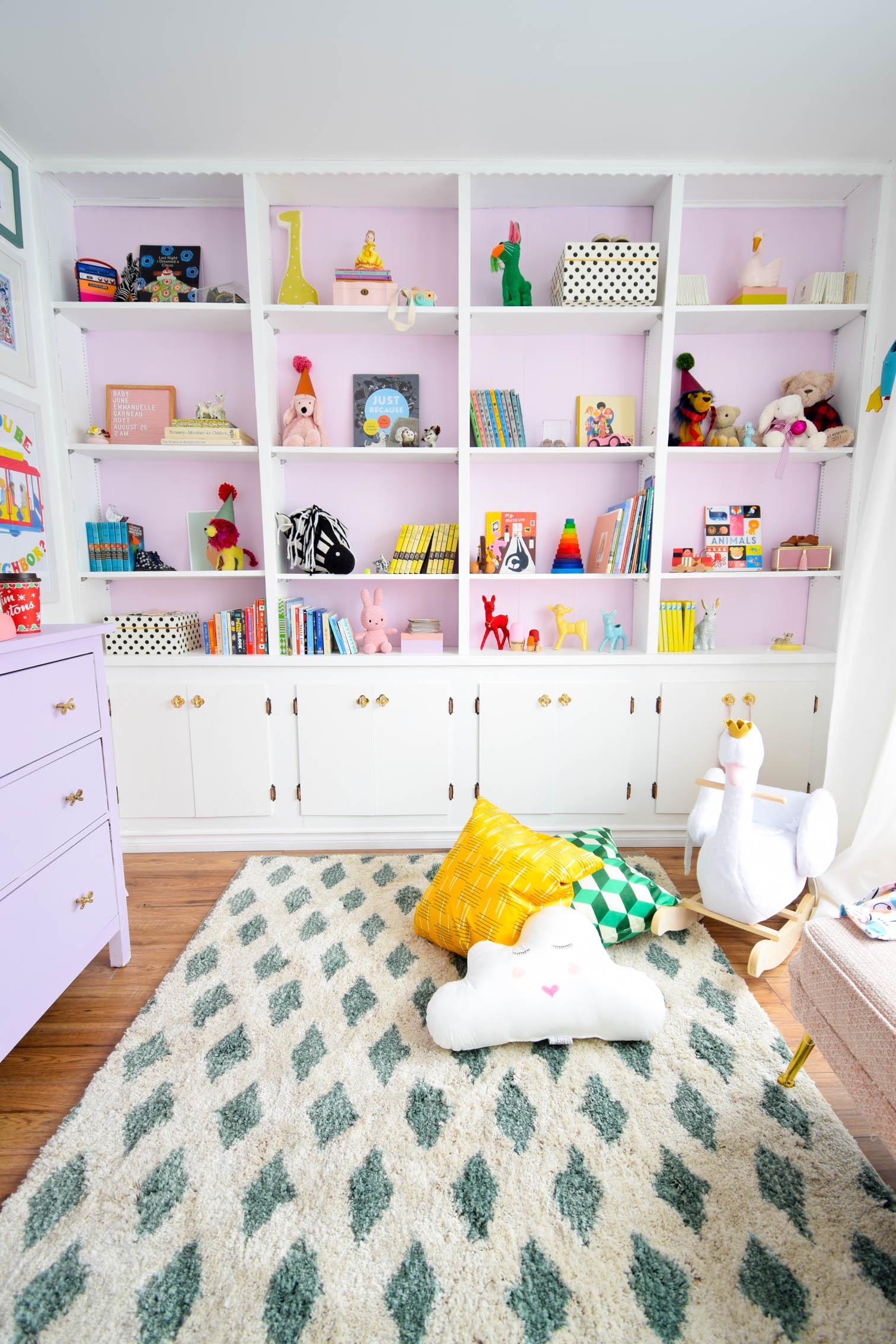 Nursery Bookshelf Styling Tips Pmq