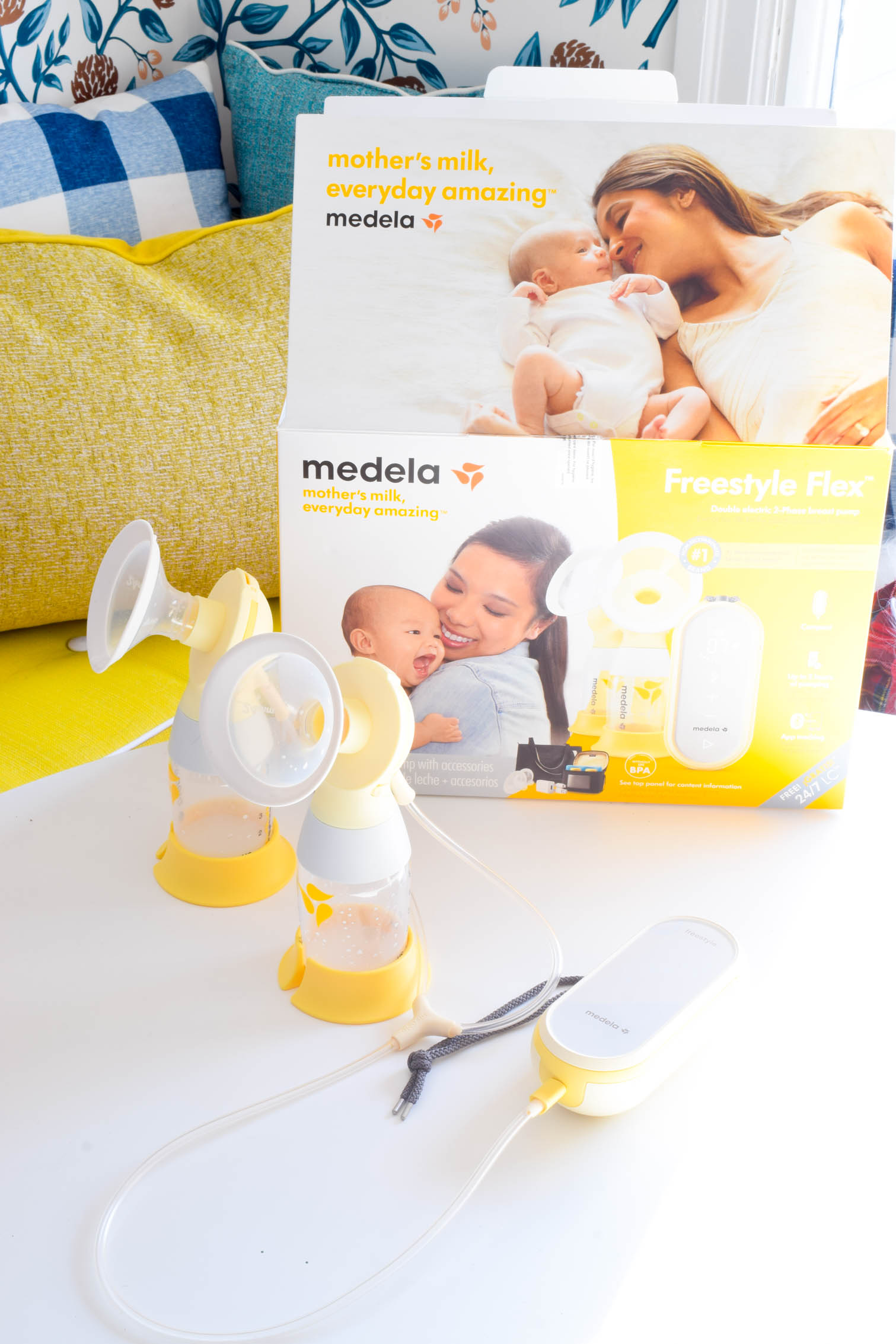 Medela Freestyle Flex Breast Pump Pmq For Two