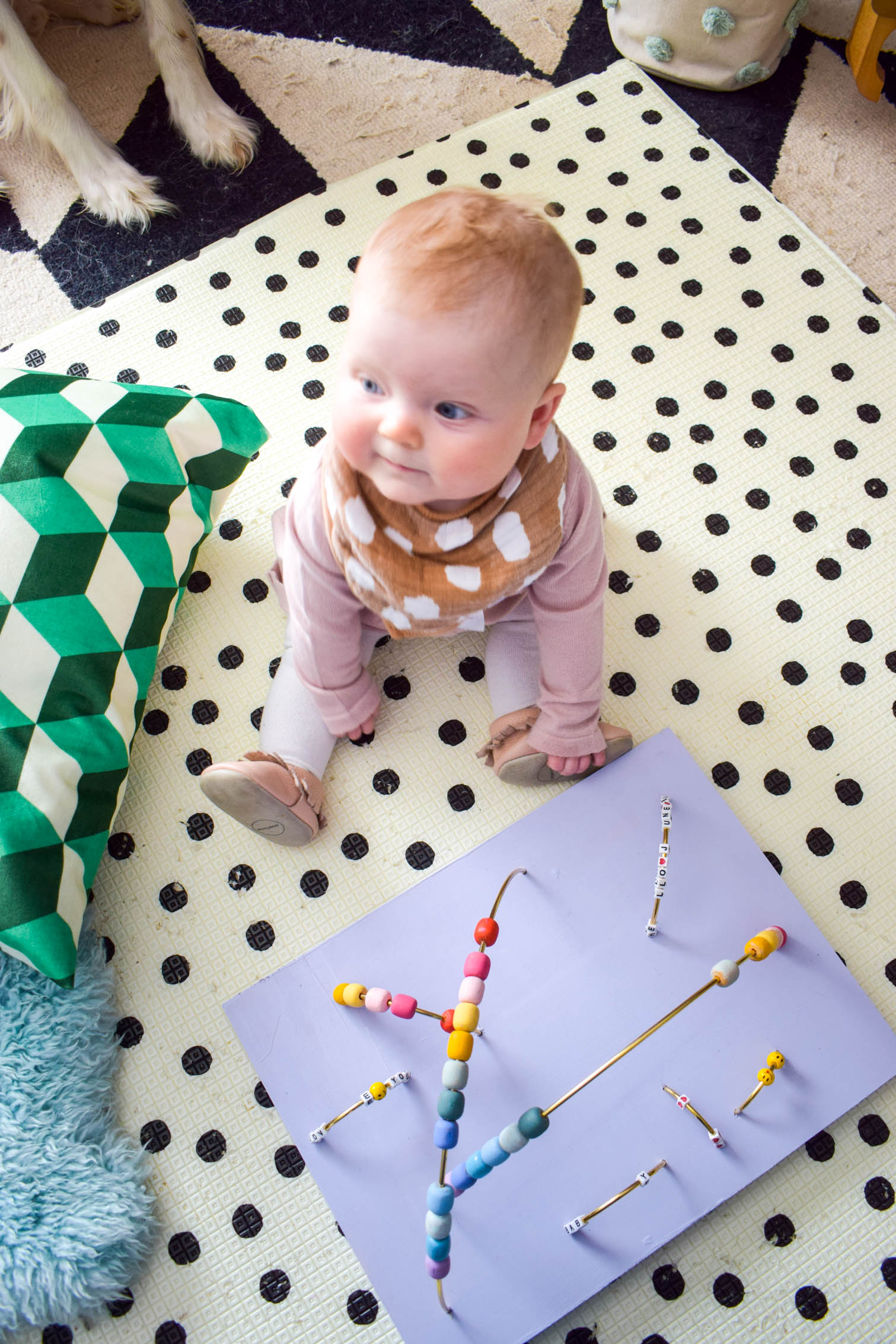 Make your own DIY baby activity table using items you may already have (or can easily order online) and keep your baby stimulated and entertained!