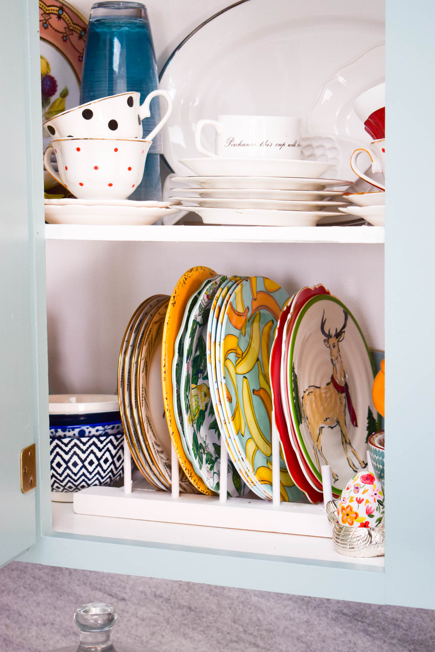 How To Make A Diy Plate Rack Pmq For Two