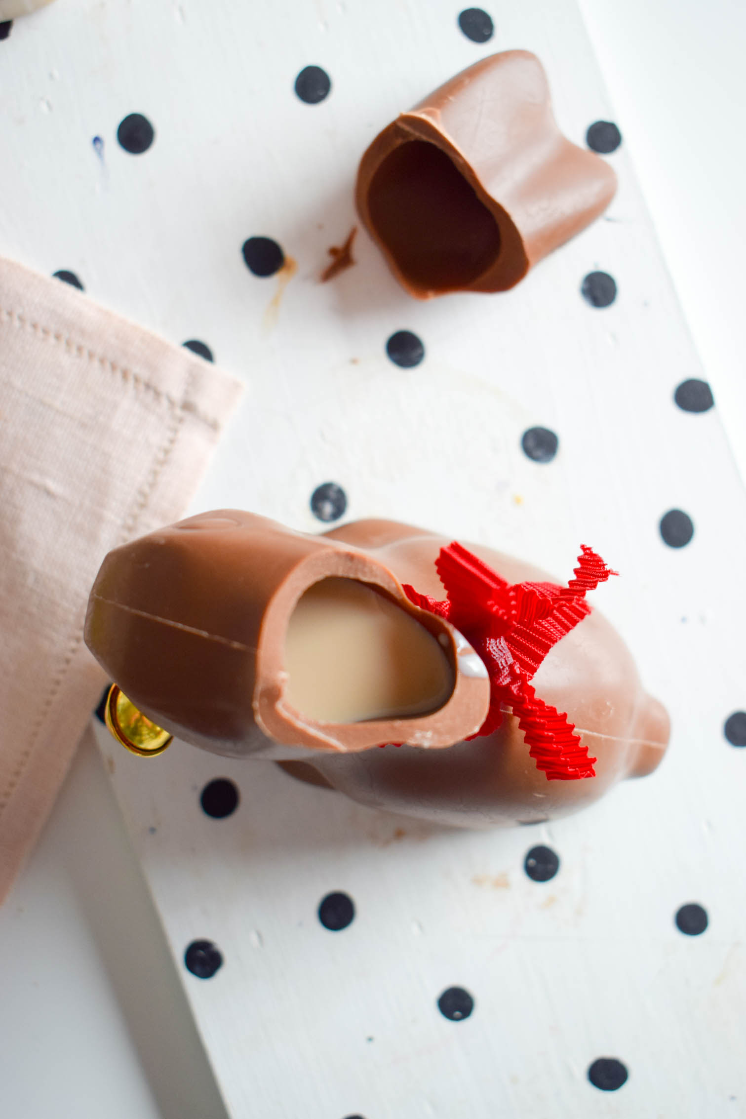 Put a fun twist on the classic chocolate bunny easter cocktail, and add a candy flower crown or make s'mores with your cocktail!