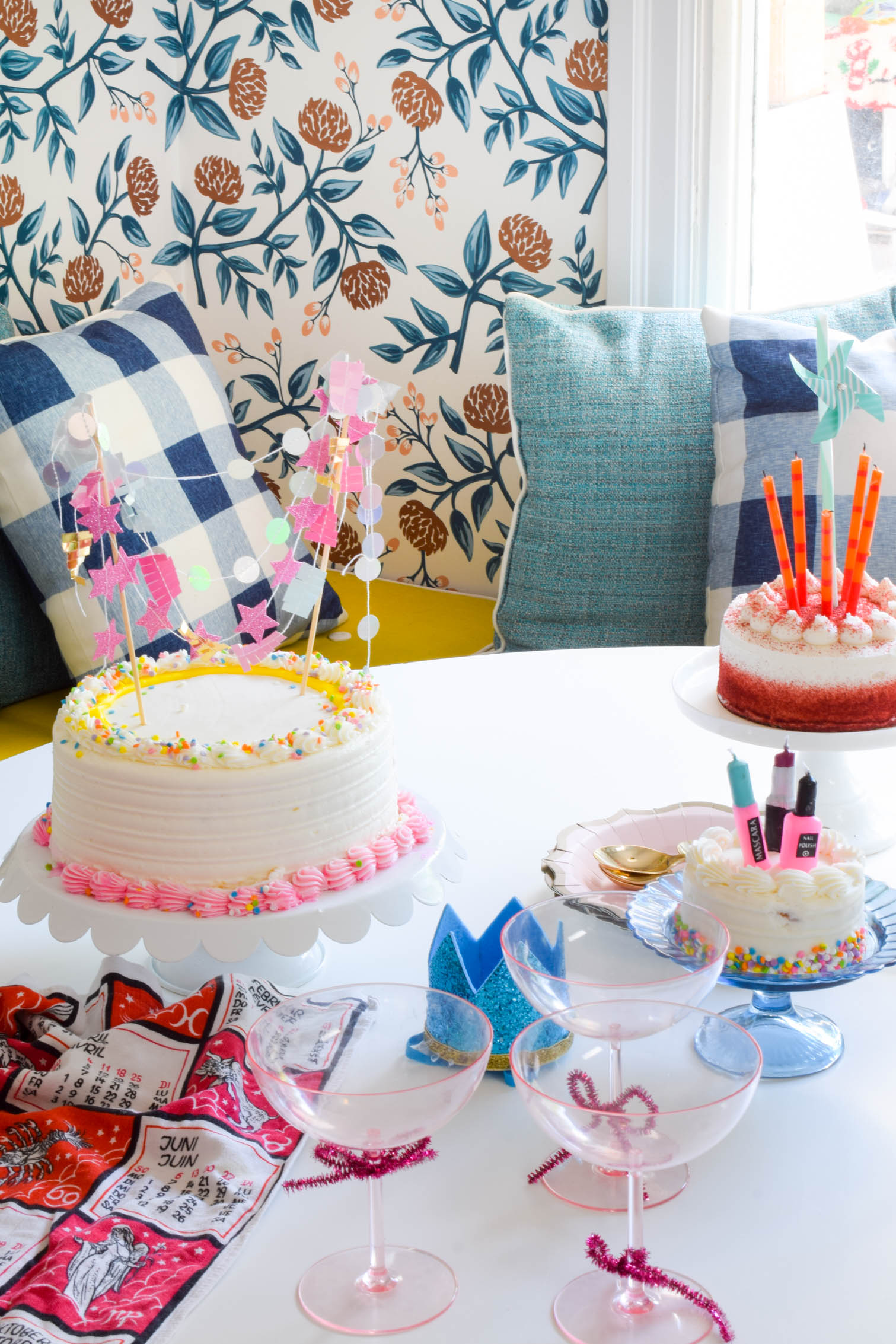 "Wanna celebrate but don't have a reasons? we combined our birthdays into one big excuse for cake. This is how to throw an ""everyone's birthday"" party."
