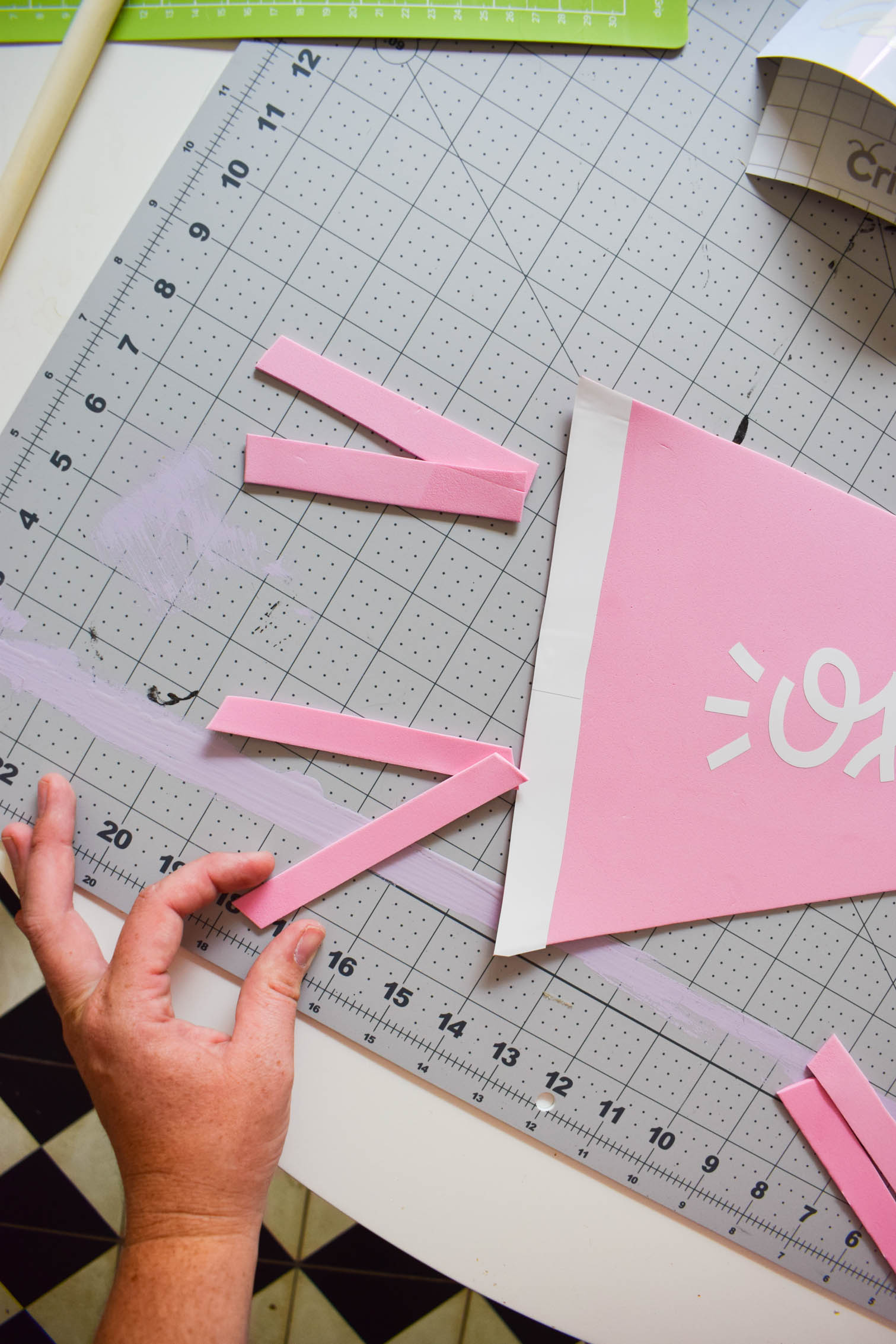 Create a DIY Playhouse Flag that'll survive the elements, using foam and your Cricut Joy! Come catch the tutorial and some inspiration images.