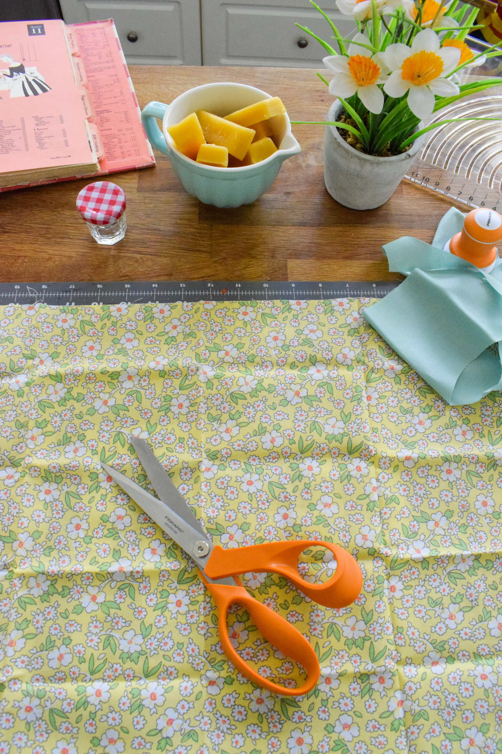 DIY beeswax food wrap is an easy first step you can take towards reducing your household waste. Bonus, it's easy to make!